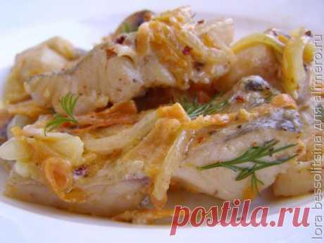Изысканное сбалансированное блюдо из судака