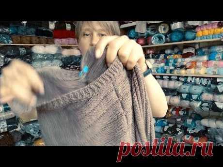 Мужской свитер . И сразу новая идея !