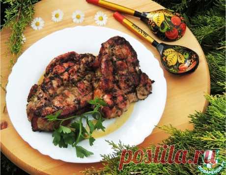 """Свиные стейки """"Гузеевские"""" – кулинарный рецепт"""