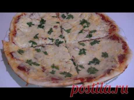 La pizza italiana por de casa, la receta del test.