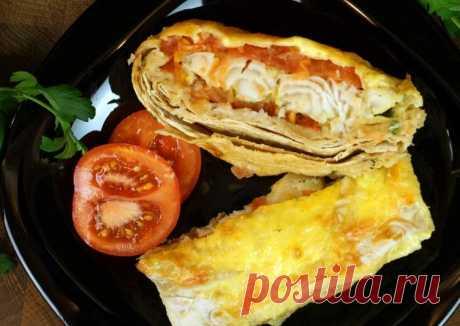 (7) Рыба запечённая в лаваше с помидором - пошаговый рецепт с фото. Автор рецепта ALEKSANDR🏃♂️ . - Cookpad