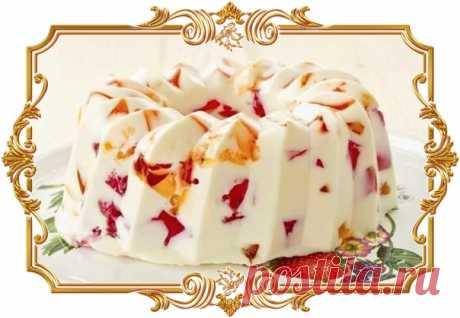 Желейный торт Битое стекло  Ингредиенты: Желатин 15 г. Желе 270 г. Показать полностью…