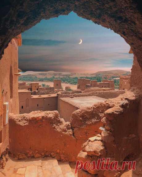 Айт-Бен-Хадду, Марокко.