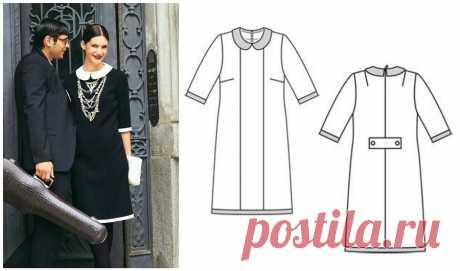 5 платьев из старых номеров Burda, которые стоит сшить сейчас — BurdaStyle.ru