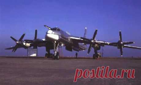 Ту-95.Стратегический бомбардировщик