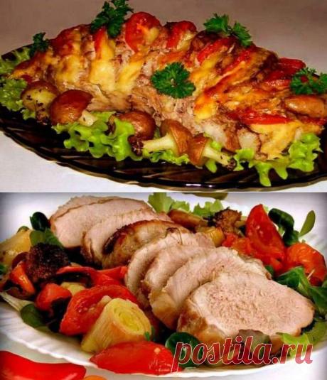Вкусные рецепты блюд из свинины в духовке - отбивные, буженина