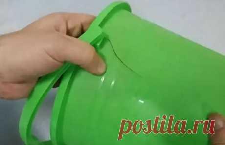 Доступный трюк, как заделать трещину в пластиковом ведре, чтобы не отправлять его в мусорку   Идеи для жизни   NOVATE.RU   Яндекс Дзен