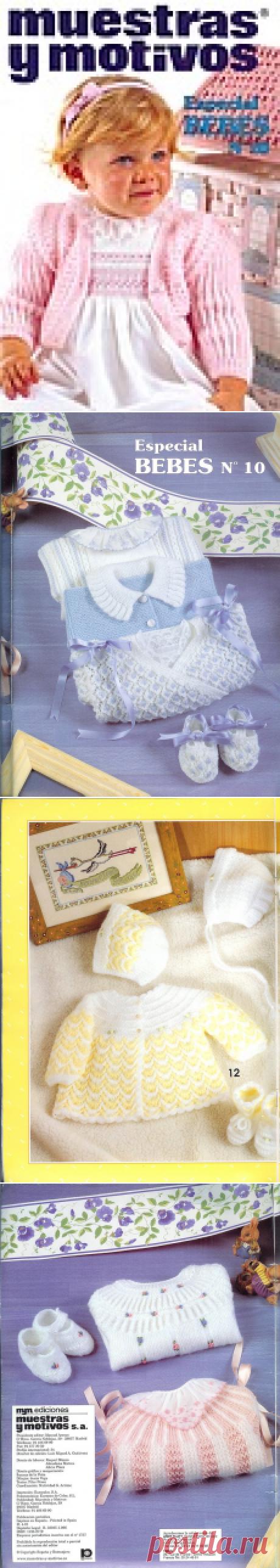Журнал : muestras y motivos Especial Bebes 10 .