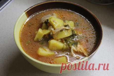 Щавелевый суп - зеленый витаминный борщ, кладезь витаминов