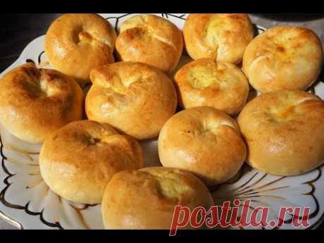 Кныши бездрожжевые пирожки с картошкой/Knishes