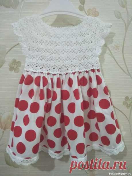 Платье для доченьки | Детская одежда крючком. Схемы