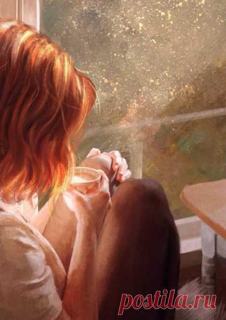 Очень красивый стих:   Я пригласила Жизнь свою на чай  Поговорить со мною у камина.  А за окном кружил февраль  Деревья разукрасил иней.  Ну что ж, подружка, как дела?  Как проживаешь свои годы?  Спросила Жизнь и чаю отпила  Взглянув в окно на непогоду…  Как я живу? Да как умею.  Люблю, грешу и в бога верю.  Скорблю, грущу и ненавижу,  А иногда и выхода не вижу.  Я Солнцу радуюсь, с дождём я плачу  Я верую в добро, ловлю удачу  Умею людям сострадать  Обидчику могу я сдач...