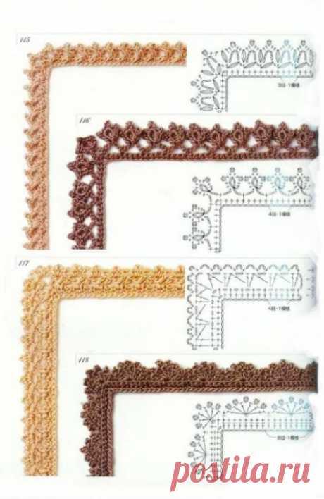 Нежные идеи обвязки ткани