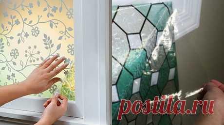Всегда думала, что это очень дорогие окна, а оказалось… Сделала из своего дома дворец без усилий! . Милая Я