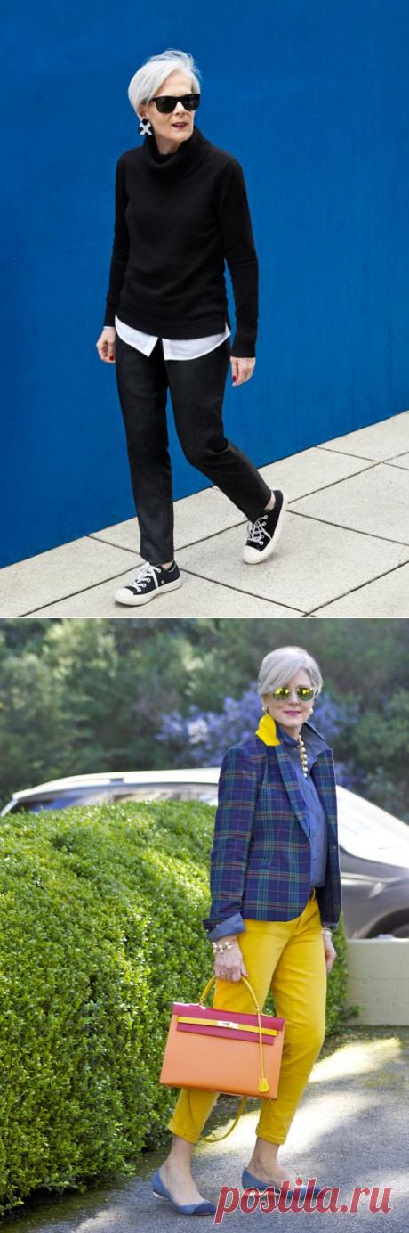 Уличная мода после 50 или стильная зрелость — FunnyReps