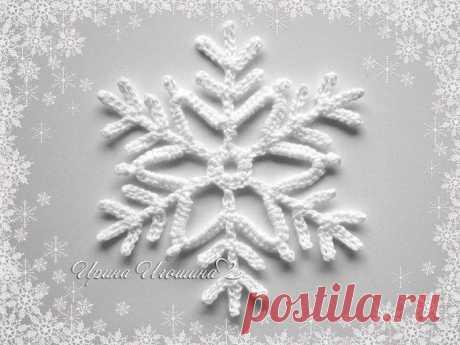 Snowflake from Irina Igoshina - the scheme