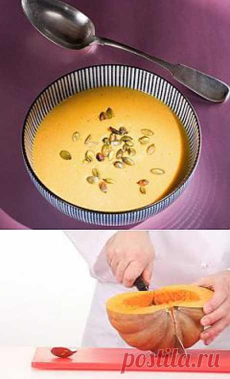 Крем-суп из тыквы рецепт – супы