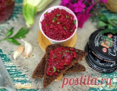 Салат из кабачков и свеклы на зиму Кулинарный рецепт