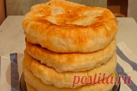 С этим рецептом забудешь, что такое хлеб! Пушистые лепешки на кефире: вкусно и быстро — Хитрости жизни
