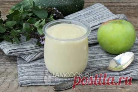 La mayonesa magro de manzana — la receta de la foto poshagovo