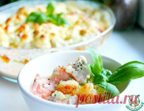 Запеканка из цветной капусты и рыбы – кулинарный рецепт