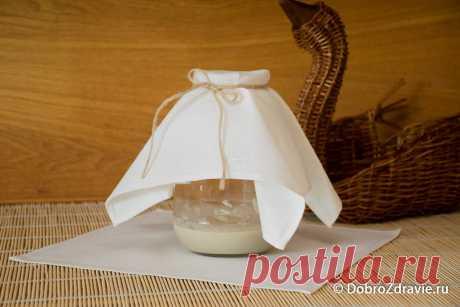 Ржаная закваска для домашнего хлеба – пошаговый рецепт приготовления с фото: шаг 1