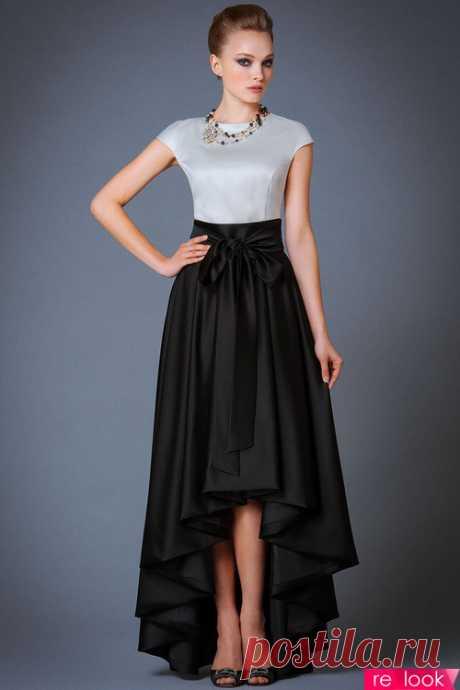 Вечерний образ с длинной юбкой: Мода и стиль - мода на Relook.ru