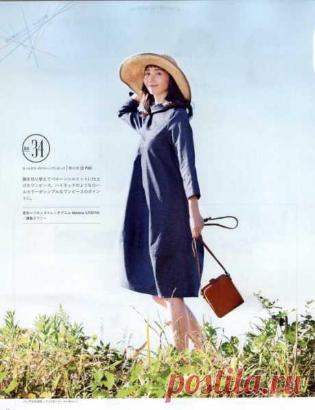 Бохо платье - бочонок Модная одежда и дизайн интерьера своими руками