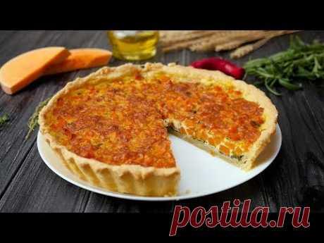 Как приготовить открытый пирог с тыквой - Рецепты от Со Вкусом