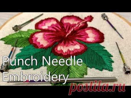Punch Needle Embroidery Compilation - January 2019. Ambroidering.