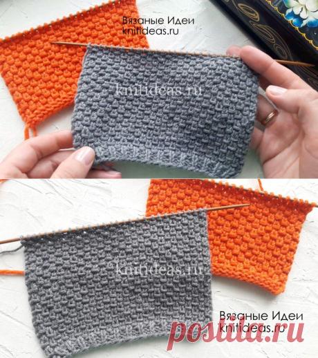 Простой, красивый узор для свитера, джемпера, кардигана!     Вязаные       Идеи.