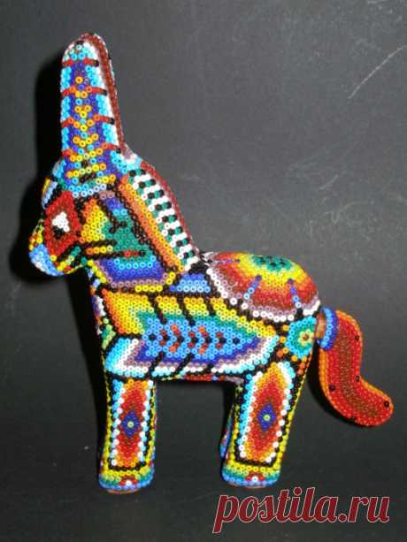 (6) Gallery.ru / Фото #38 - Бусиничные изделия из Мексики - tigerfairy