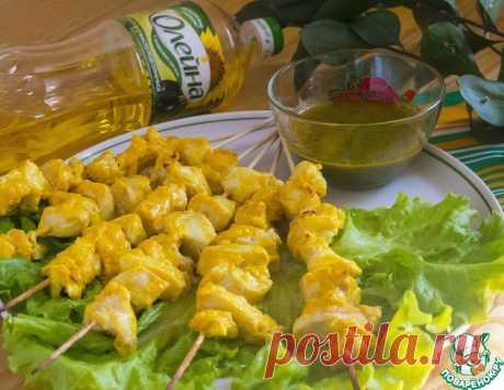 Шашлычки из филе трески с соусом – кулинарный рецепт