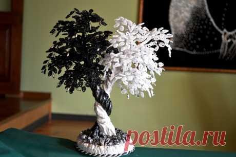 Деревья из бисера: видео, мастер класс, фото, схемы и описание бисероплетения деревьев своими руками