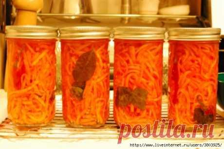 Маринованная морковь по-тайски - это совершенно новый экзотический вкус