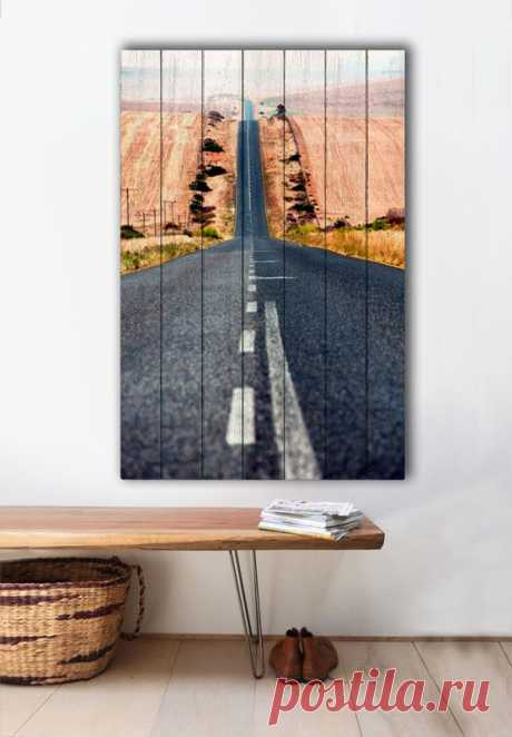 """Картина """"Дорога"""" по цене от 5900 руб. Размеры: 60x90 см, 80x120 см, 100x150 см, 120x180 см. Срок изготовления: 2-3 дня."""