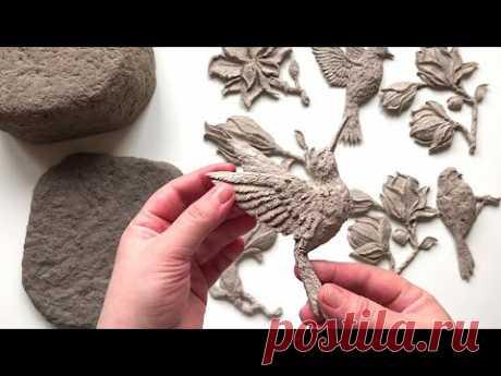 #DIY Красивая шкатулка из папье-маше | Поделка из бумаги