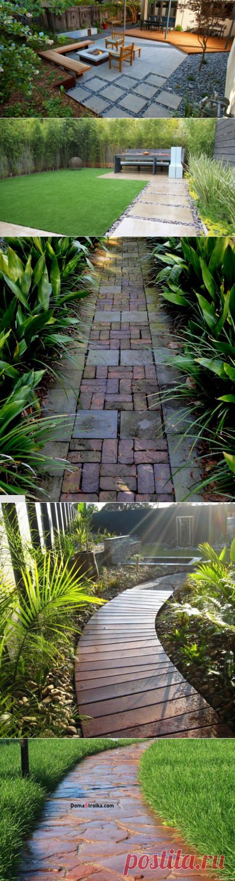 Садовые дорожки – практичность и красота ⋆ DomaStroika.com