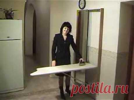 Идеи домашнего мастера  » Архив  Гладильная доска   Идеи домашнего мастера