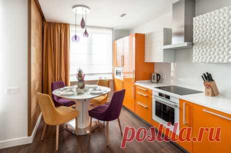 Дизайн прямой кухни Разберем плюсы и минусы прямой кухни. Покажем варианты расстановки мебели для линейного кухонного гарнитура с реальными фото в интерьере.