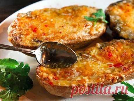 Грибной жюльен в съедобных кокотницах из картофеля — Вкусные рецепты