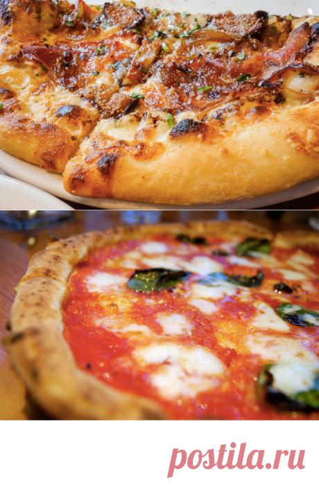 Оригинальная  итальянская пицца в домашних условиях, три рецепта и три главных секрета!!!