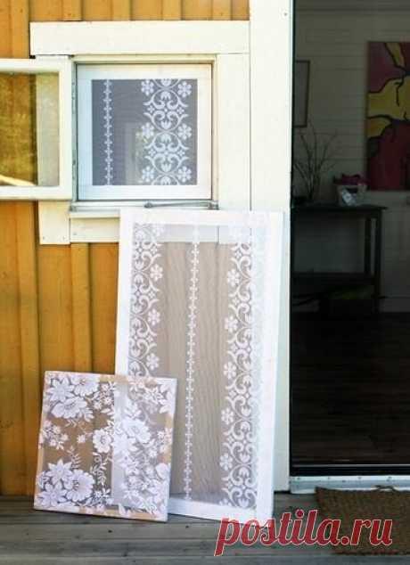 Белоснежные кружевные окна своими руками: найдена гениальная замена надоевшим занавескам и жалюзи | Нескучный дизайн интерьера | Яндекс Дзен