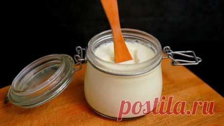 Самый простой рецепт домашнего йогурта без закваски