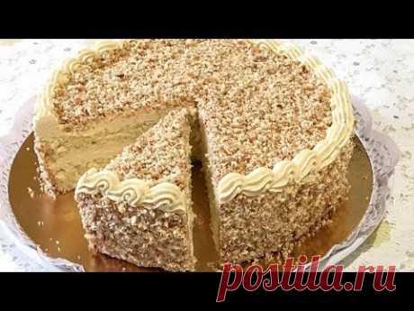 """КРЕМ С ХАЛВОЙ, домашний торт """"СЛАВЯНКА"""" /Cream with halva."""