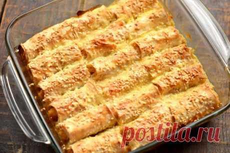 Блюдо из лаваша на миллион | Рецепты салатов и вкусняшек | Яндекс Дзен