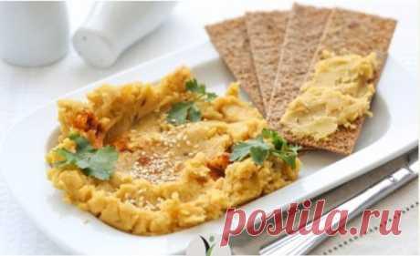Хумус - любимая израильская закуска