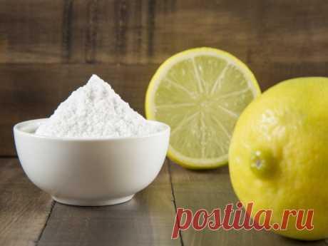 Лимонная кислота и сок как популярное народное средство уборки