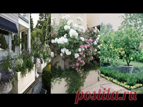 Las ideas del diseño de la parte de jardín