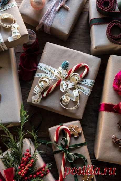 Идеи упаковки подарков 🎁